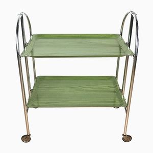 Mid-Century Green Trolley