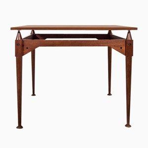 TL3 Teak Square Table by Franco Albini for Poggi, 1960s