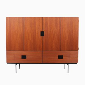 CU04 Teak Highboard by Cees Braakman for Pastoe, 1950s