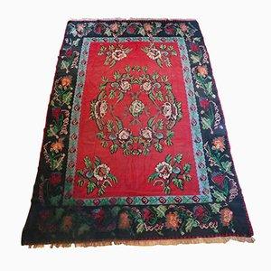 Türkischer Mid-Century Teppich aus Wolle, 1950er
