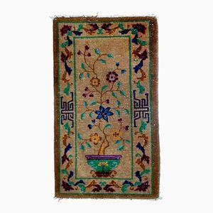 Handgemachter Chinesischer Teppich, 1920er