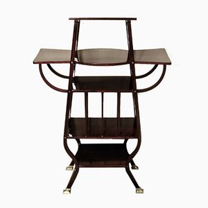 Viennese Art Nouveau 32 Shelf in Bentwood from Thonet, 1910s