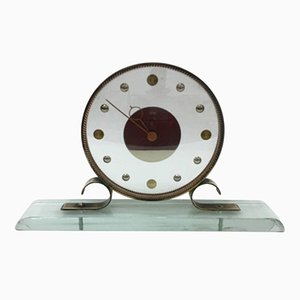 Mid-Century Modern Table Clock from Venini
