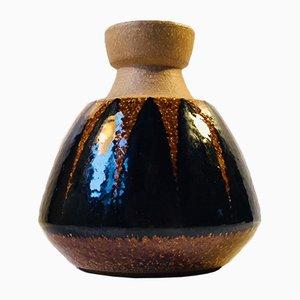 Vintage Danish Stoneware Vase by Einar Johansen for Søholm, 1960s