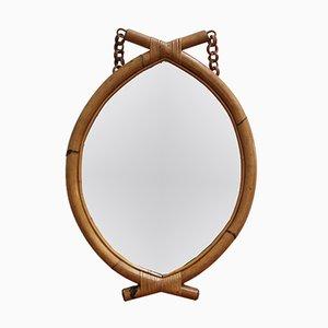 Italienischer Spiegel in Augen Form, 1960er
