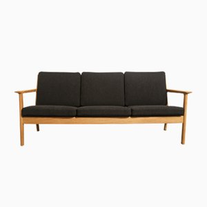 Mid-Century Danish GE265 3-Seater Sofa by Hans J. Wegner for Getama, 1970s