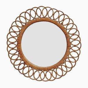 Italian Sunflower-Shaped Wall Mirror, 1960s