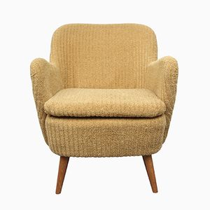 Yellow Cocktail Armchair, 1950s