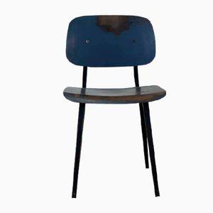 Dutch Industrial Revolt Chair by Friso Kramer for Ahrend De Cirkel, 1956