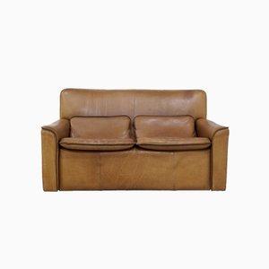 2-Sitzer Sofa von LeoLux aus Nackenleder, 1970er