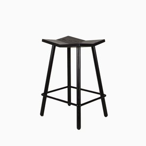 Mitre Stool Counter / Black by Shaun Kasperbauer for Souda