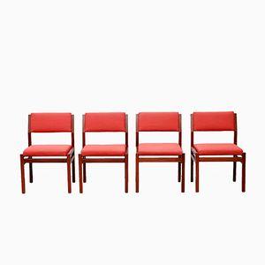 Japanese Series Esszimmerstühle von Cees Braakman für Pastoe, 1960er, 4er Set