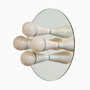 Weiße Echo 4 Wandlampe von Shaun Kasperbauer für Souda