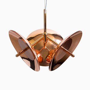 Signal Chandelier 3 Copper by Shaun Kasperbauer for Souda