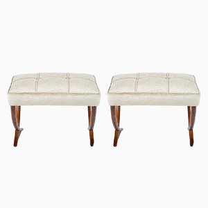 Italian Stools, 1940s, Set of 2