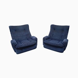 Vintage Sessel von Michel Cadestin für Airborne, 1970er, 2er Set