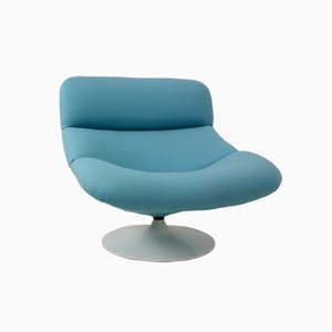 Mid-Century Dutch F518 Lounge Swivel Chair by Geoffrey Harcourt for Artifort, 1974