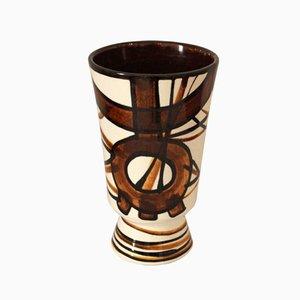 Französische Mid-Century Vase von Saint Clément, 1950