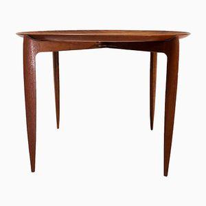 Tisch mit Tablett von H. Engholm & Svend Willumsen für Fritz Hansen, 1950er