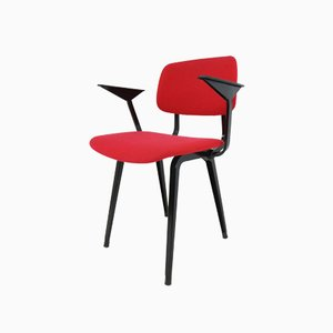 Red Revolt Armchair by Friso Kramer for Ahrend De Cirkel, 1958