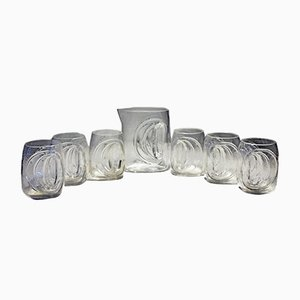 Orion Glass Set by Claus Josef Riedel for Tirol Riedel, 1970s, Set of 7