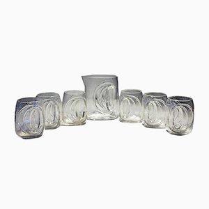Set di bicchieri Orion di Claus Josef Riedel per Tirol Riedel, anni '70, set di 7