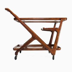 Vintage Italian Trolley by Cesare Lacca for Cassina, 1950s