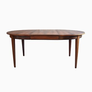 Model 55 Rosewood Dining Table from Omann Jun Møbelfabrik, 1960s