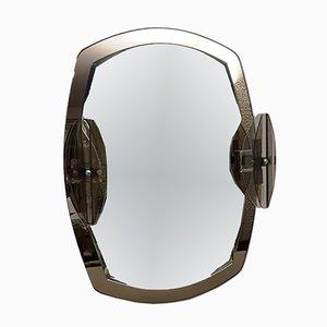 Italienischer Spiegel von Veca, 1970er