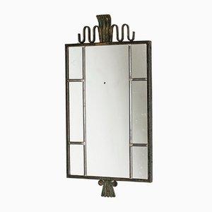 Bronze Spiegel von Böhlmarks, 1930er