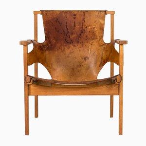 Trienna Lounge Chair by Carl-Axel Acking for Nordiska Kompaniet, 1950s