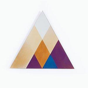 Specchio Transience piccolo con triangoli di David Derksen & Lex Pott per Transnatural