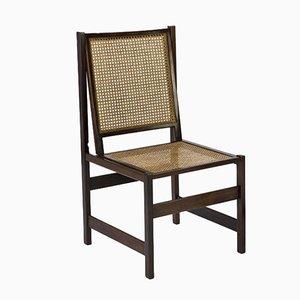 Mid-Century Jacaranda & Cane Chair by Joaquim Tenreiro, 1958