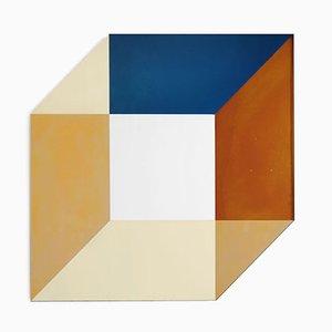 Specchio Transience quadrato di David Derksen e Lex Pott per Transnatural