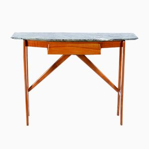 Italian Marble Console Table, 1950s