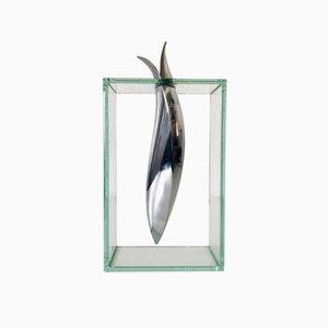 Mid-Century Modern Sculptural Whale Vase