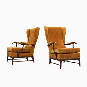 Mid-Century Italian Armchairs by Paolo Buffa, Set of 2