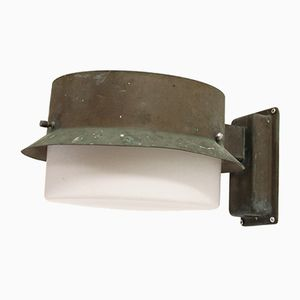 Lampada da parete da esterno in rame di Falkenbergs Belysning AB, anni '60