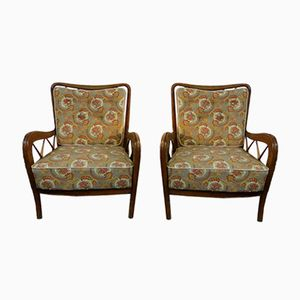 Mid-Century Small Armchairs by Paolo Buffa, 1950s, Set of 2