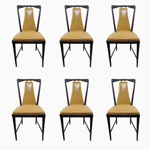 Vintage Dining Chairs from Atelier Borsani Varedo, 1947, Set of 6