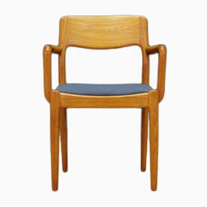 Danish Teak Dining Chair by Juul Kristensen, 1960s