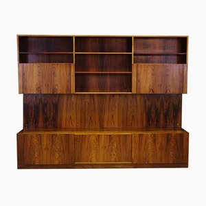Danish Teak Shelf System by Ib Kofod-Larsen for Faarup Møbelfabrik, 1960s