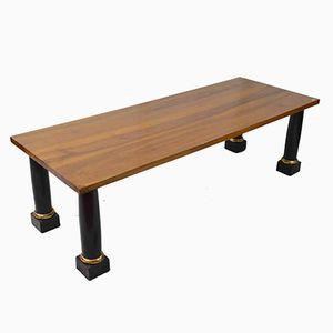Antique Empire Walnut Coffee Table
