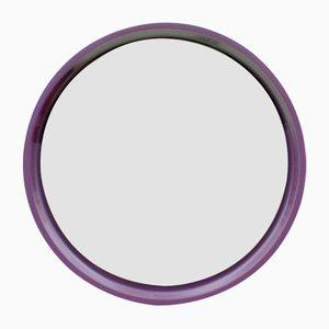 German Small Purple Mirror, 1970s