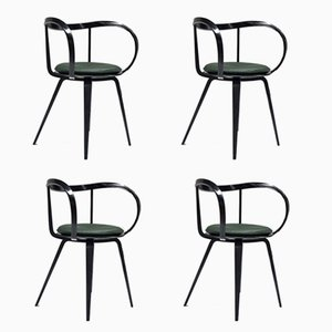 Pretzel Chairs by George Nelson for ICF De Padova, 1958, Set of 4