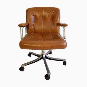 Chaise de Bureau P128 par Osvaldo Borsani pour Tecno, 1960s