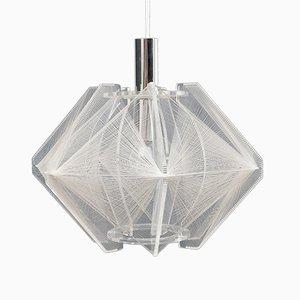 Lampe à Suspension Vintage par Paul Secon pour Sompex