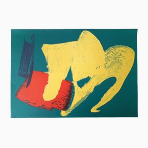 Affiche Lithographie par Gérard Schneider, 1983