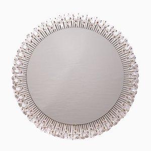 Großer Runder Beleuchteter Spiegel von Emil Sterner für Rupert Nikoll, 1950er