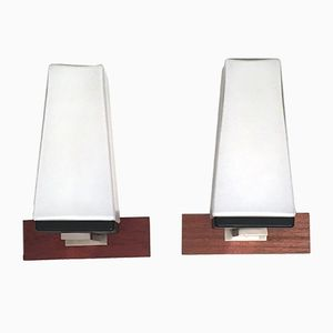 Vintage Wall Lamps, 1960s, Set of 2